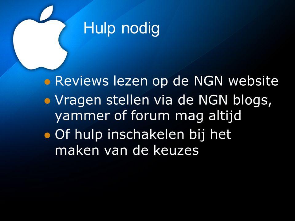 Hulp nodig Reviews lezen op de NGN website