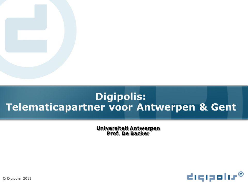 Digipolis: Telematicapartner voor Antwerpen & Gent
