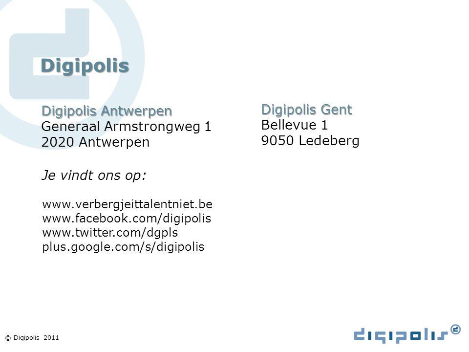 Digipolis Digipolis Antwerpen Digipolis Gent Generaal Armstrongweg 1