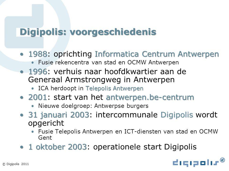 Digipolis: voorgeschiedenis