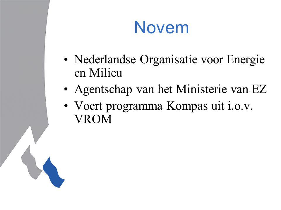Novem Nederlandse Organisatie voor Energie en Milieu