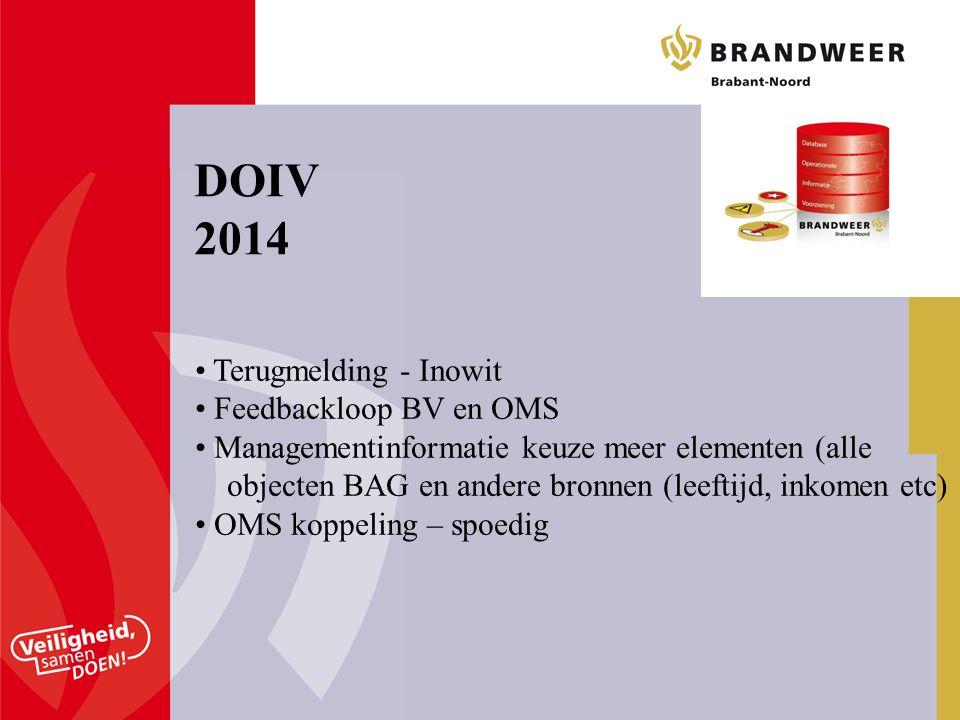 DOIV 2014 Terugmelding - Inowit Feedbackloop BV en OMS