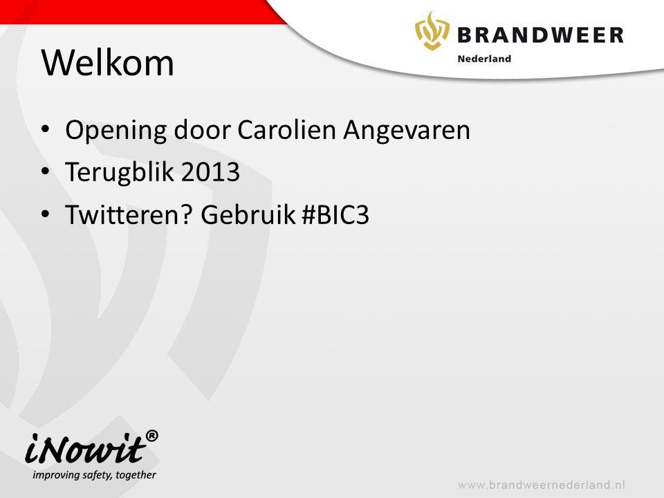 Welkom Opening door Carolien Angevaren Terugblik 2013
