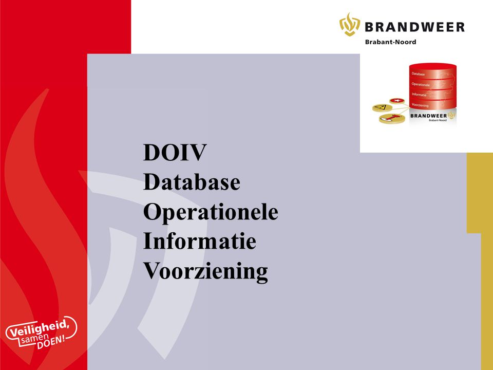 DOIV Database Operationele Informatie Voorziening