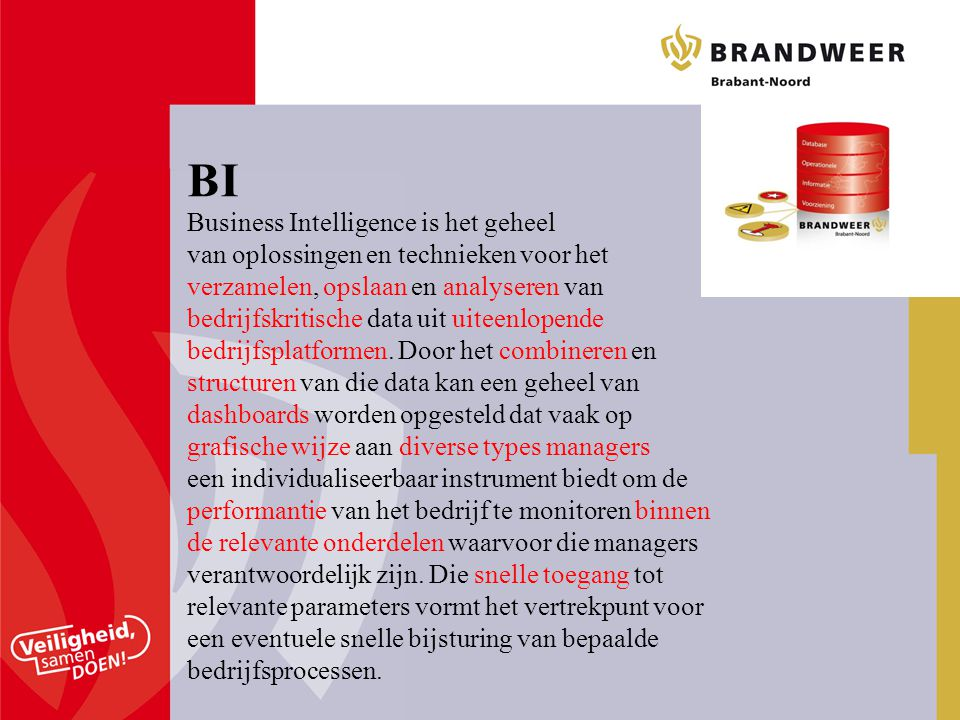 BI Business Intelligence is het geheel