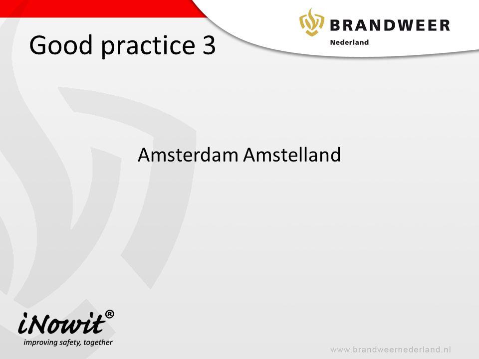 Good practice 3 Amsterdam Amstelland