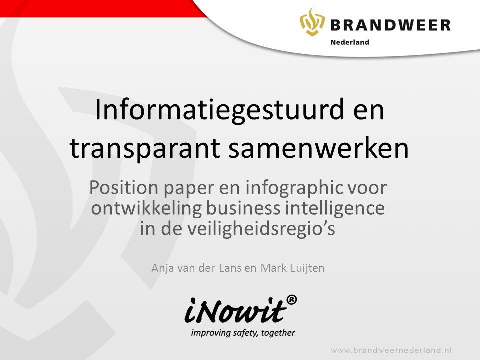 Informatiegestuurd en transparant samenwerken