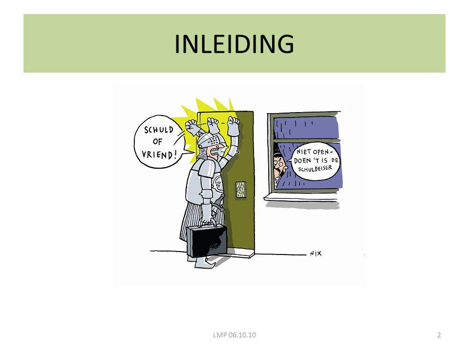 INLEIDING LMP 06.10.10
