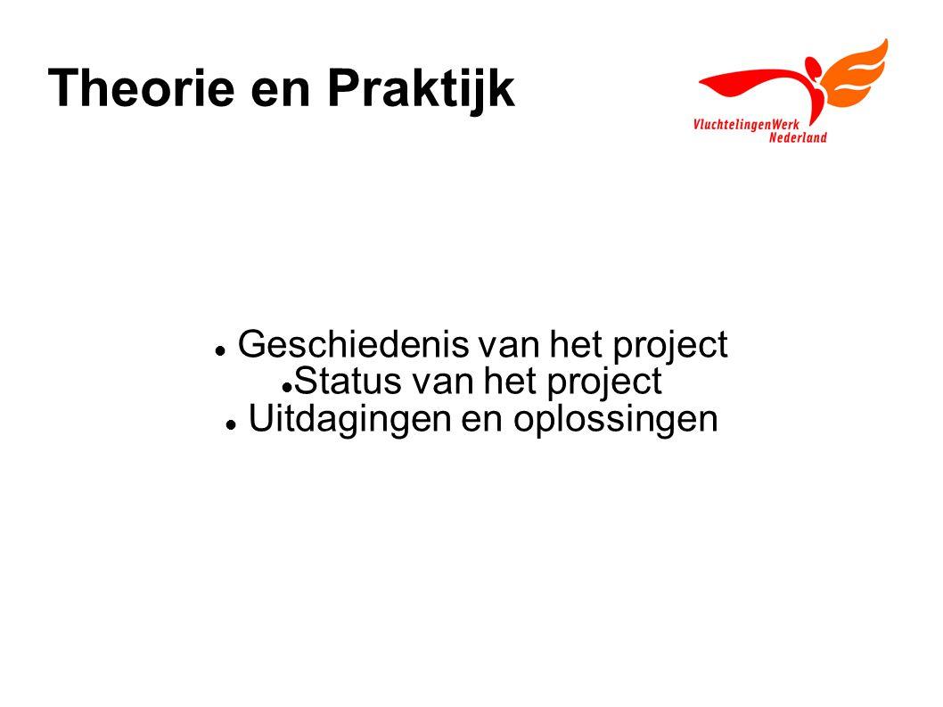 Theorie en Praktijk Geschiedenis van het project