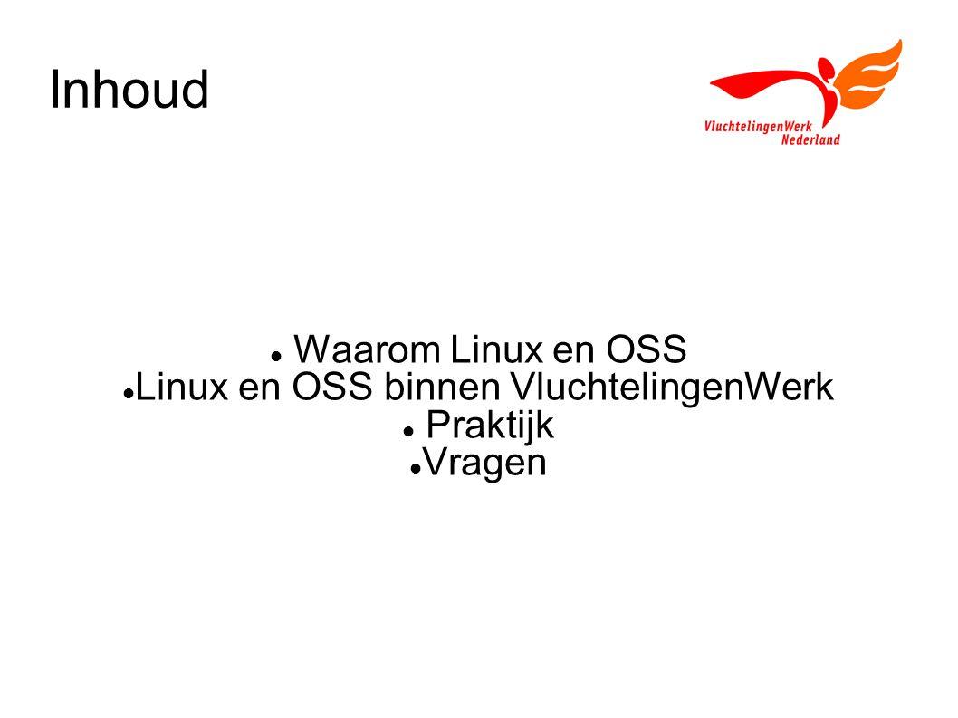 Linux en OSS binnen VluchtelingenWerk