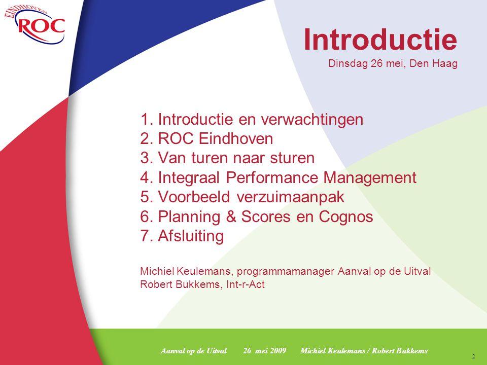 Introductie Dinsdag 26 mei, Den Haag