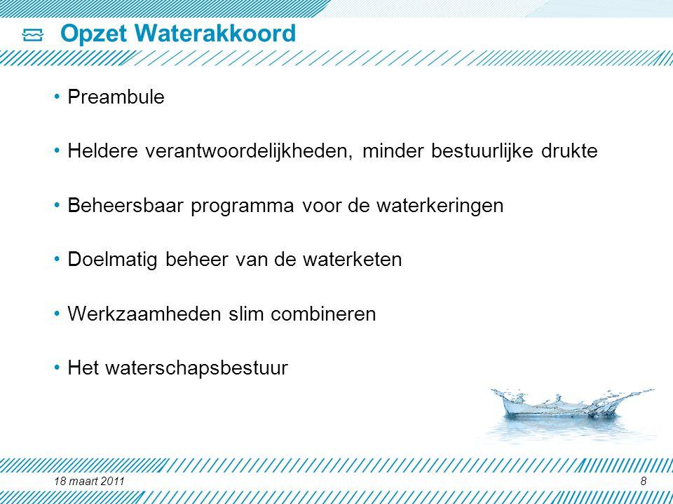 Opzet Waterakkoord Preambule