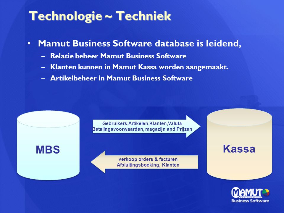 Technologie ~ Techniek