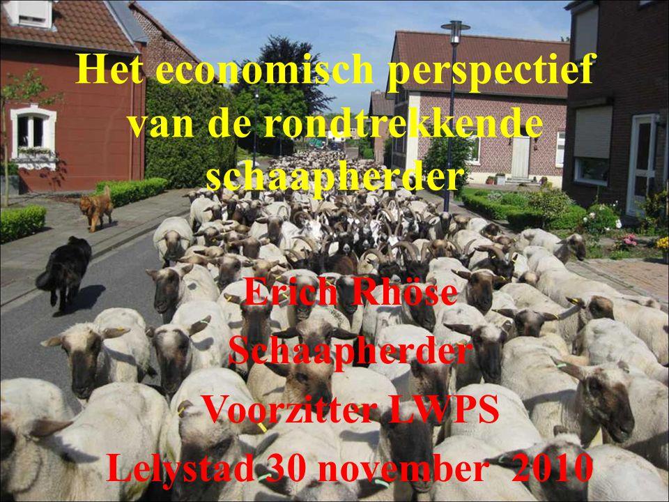 Het economisch perspectief van de rondtrekkende schaapherder