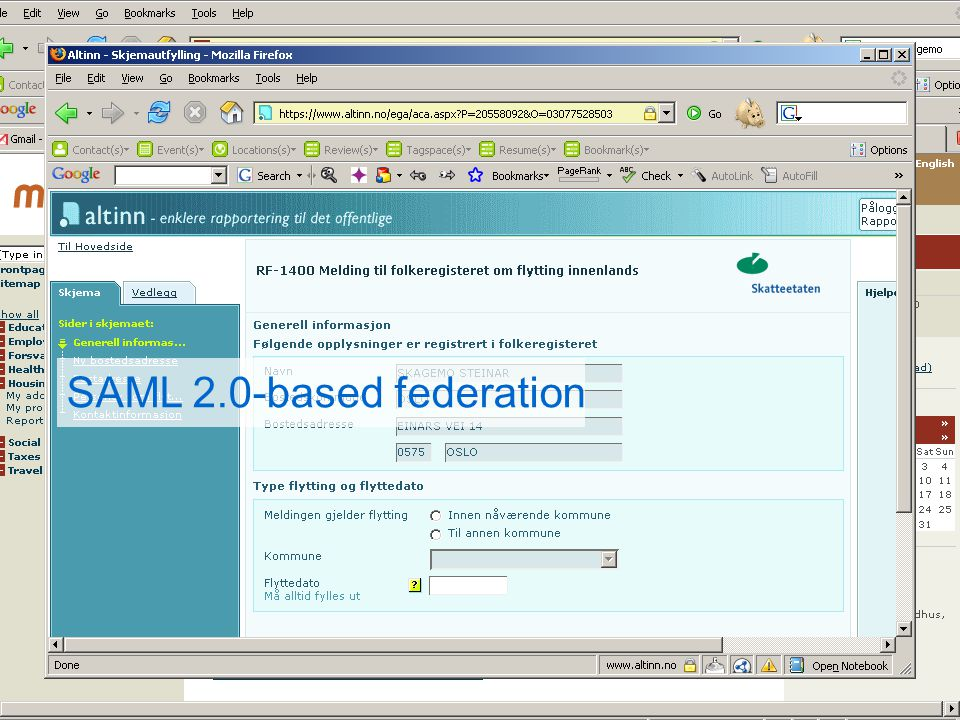 SAML 2.0-based federation