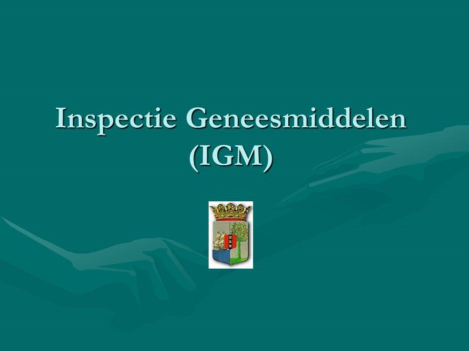 Inspectie Geneesmiddelen (IGM)