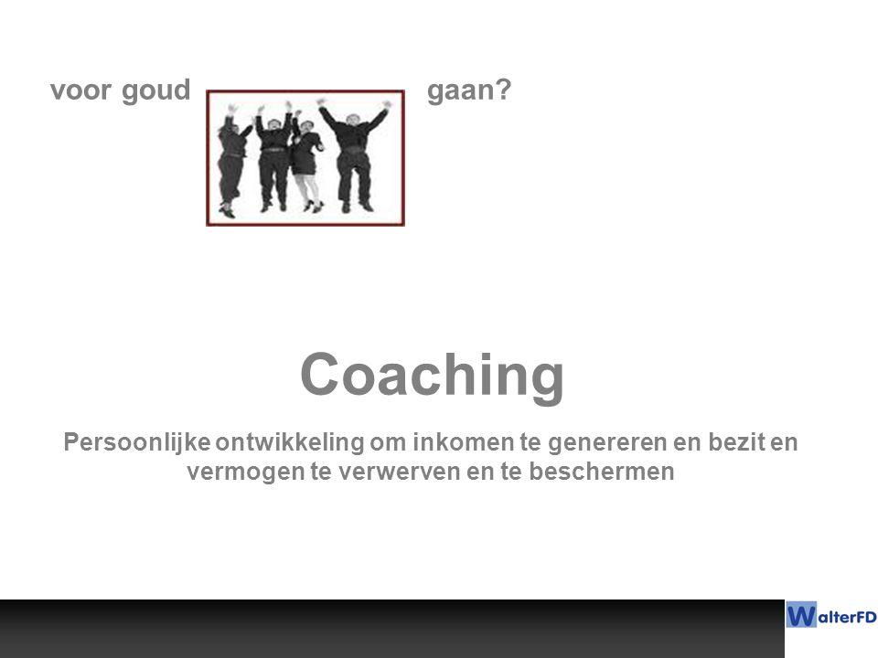Coaching voor goud gaan