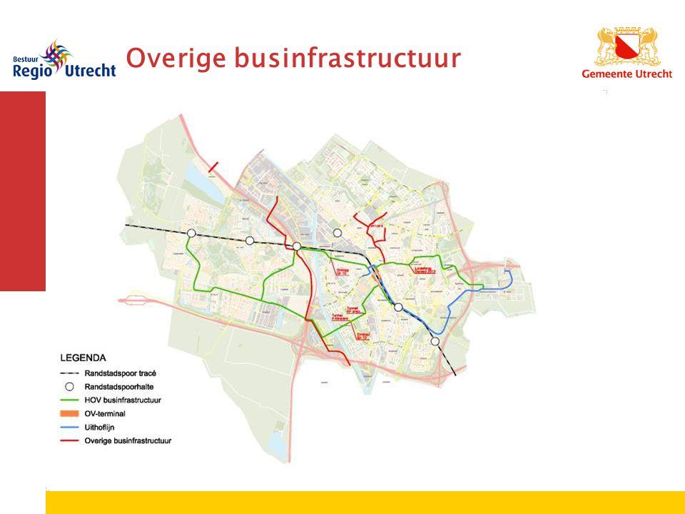 Overige businfrastructuur