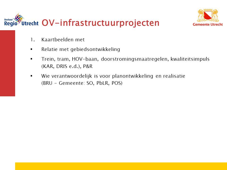 OV-infrastructuurprojecten