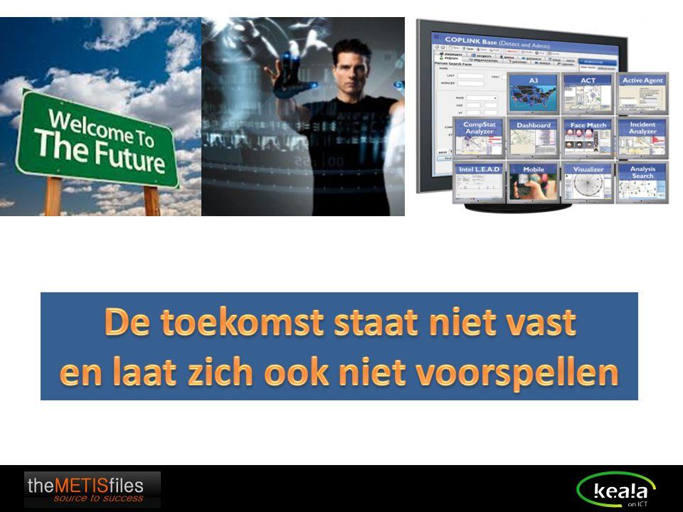 De toekomst staat niet vast en laat zich ook niet voorspellen