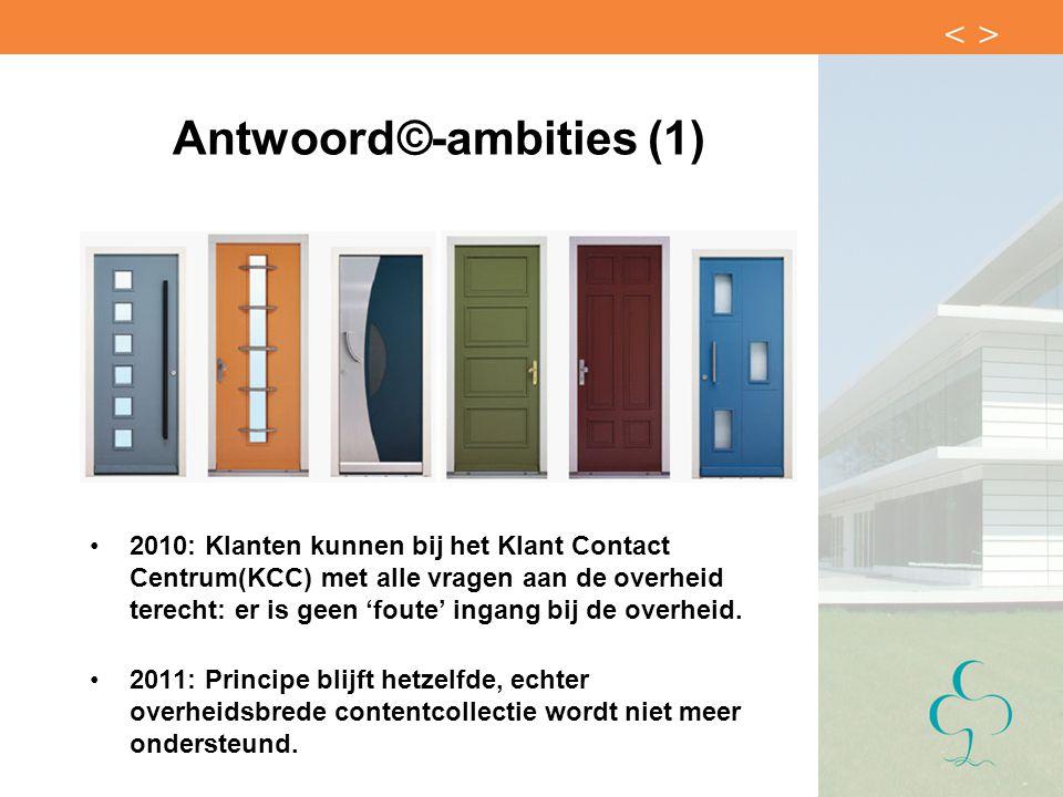 Antwoord©-ambities (1)