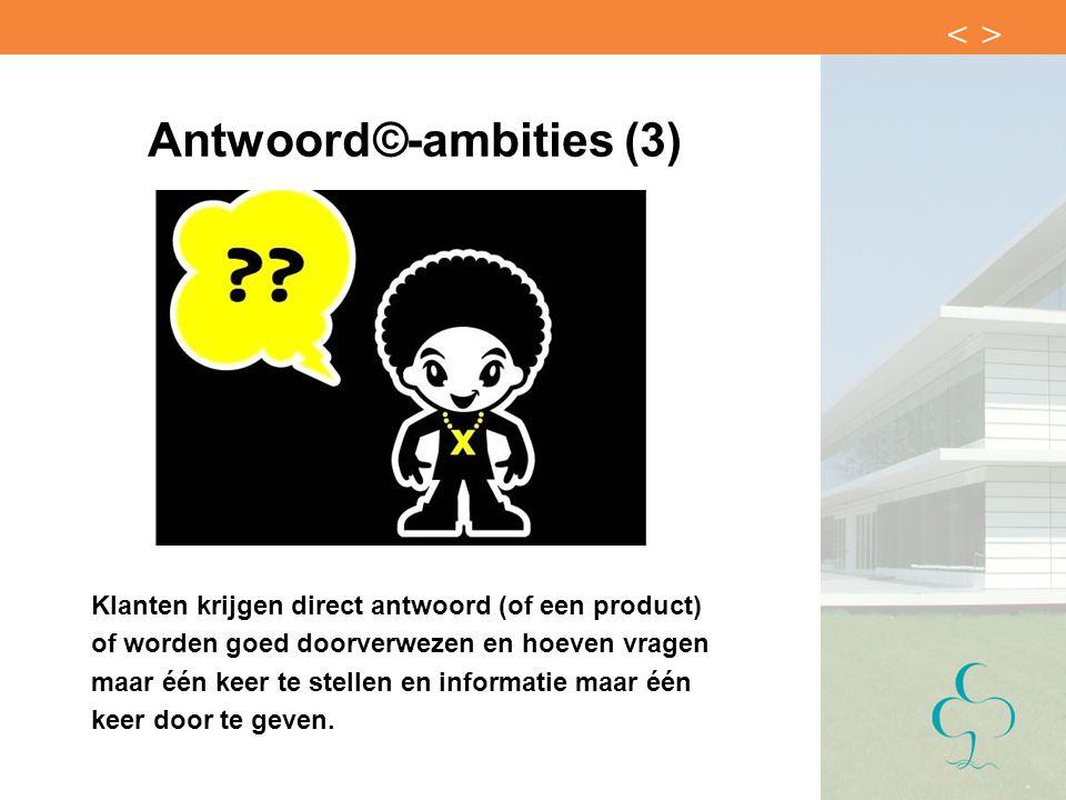Antwoord©-ambities (3)