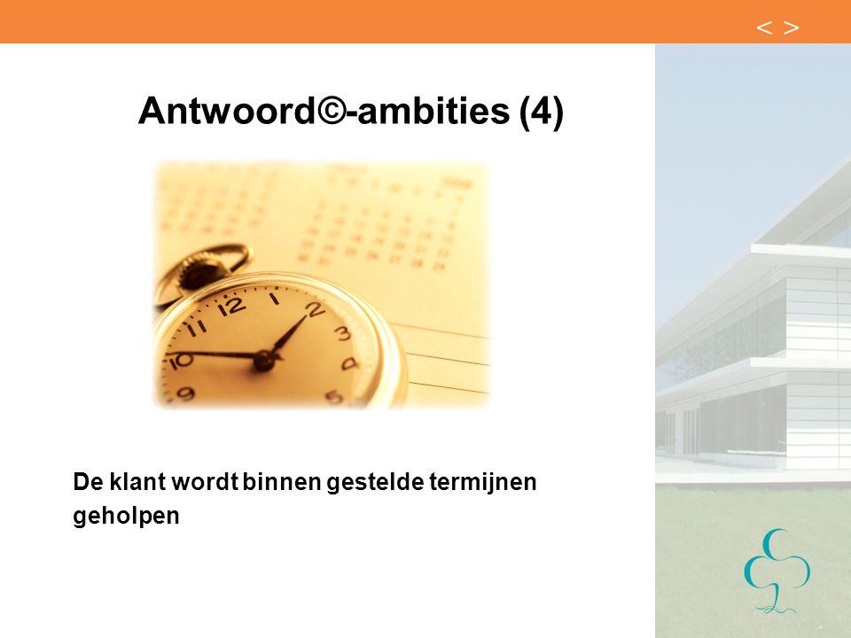 Antwoord©-ambities (4)