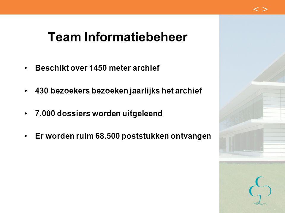 Team Informatiebeheer