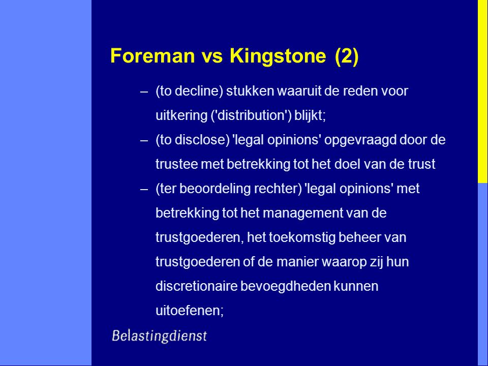 Foreman vs Kingstone (2)
