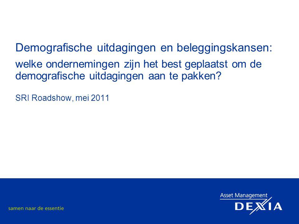 Demografische uitdagingen en beleggingskansen: welke ondernemingen zijn het best geplaatst om de demografische uitdagingen aan te pakken