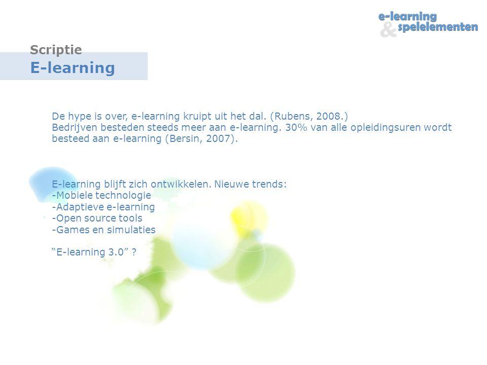 Scriptie E-learning.