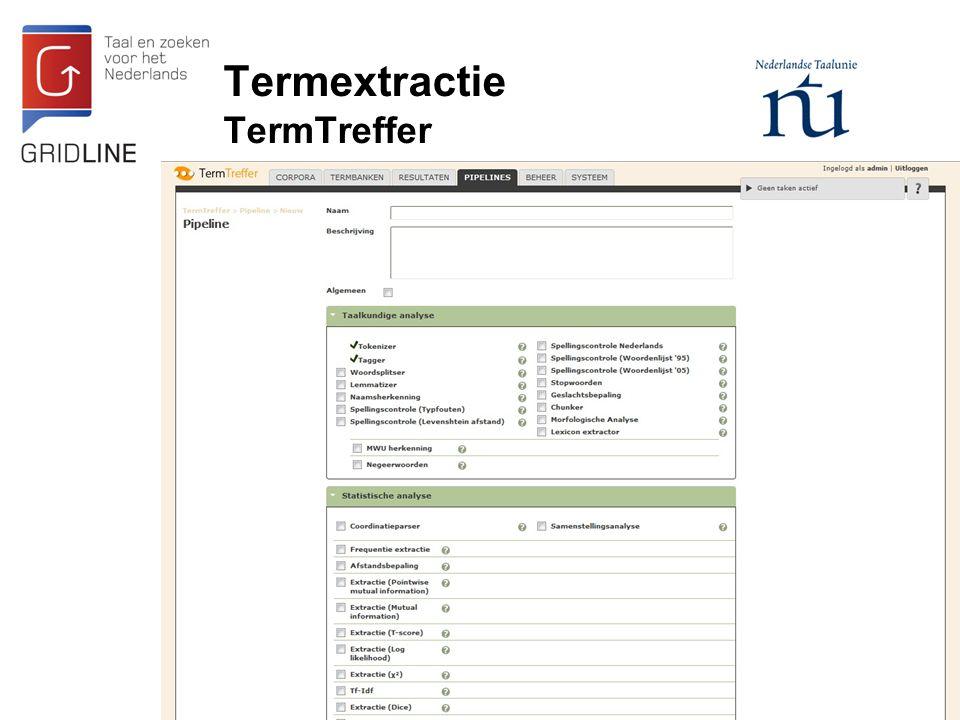 Termextractie TermTreffer