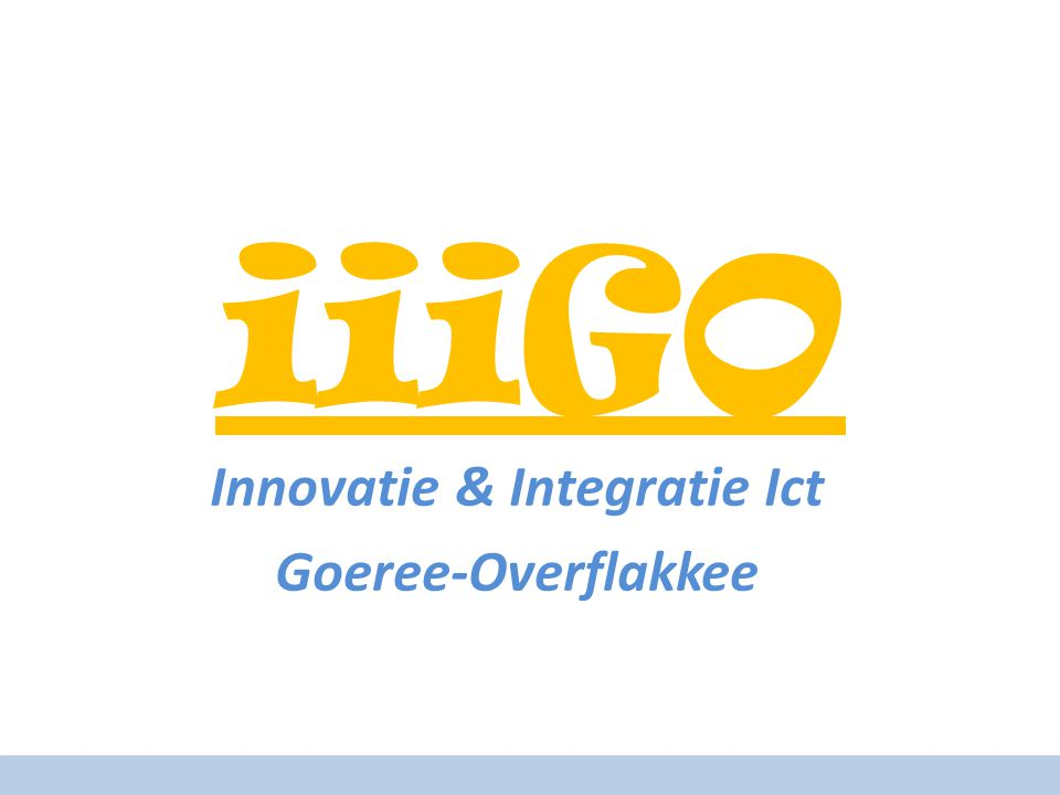 Innovatie & Integratie Ict Goeree-Overflakkee