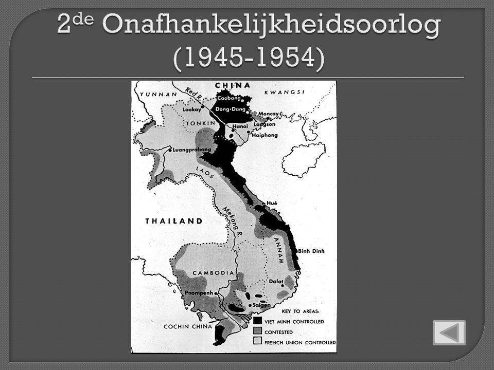 2de Onafhankelijkheidsoorlog (1945-1954)