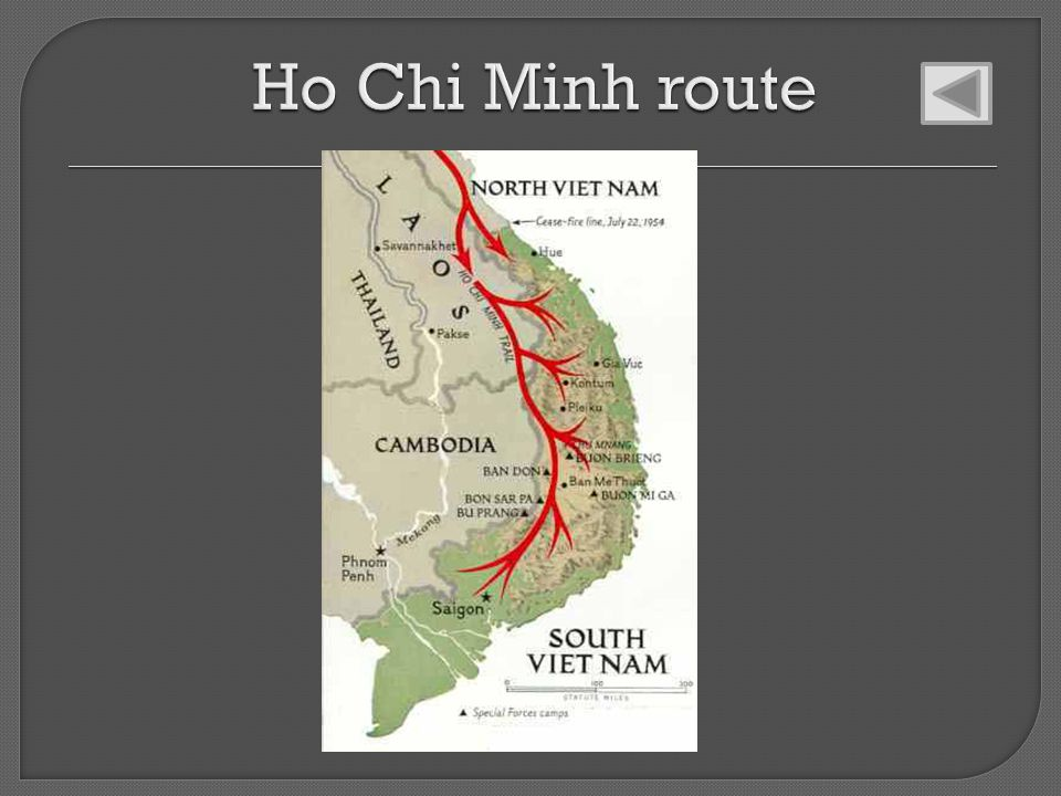 Ho Chi Minh route