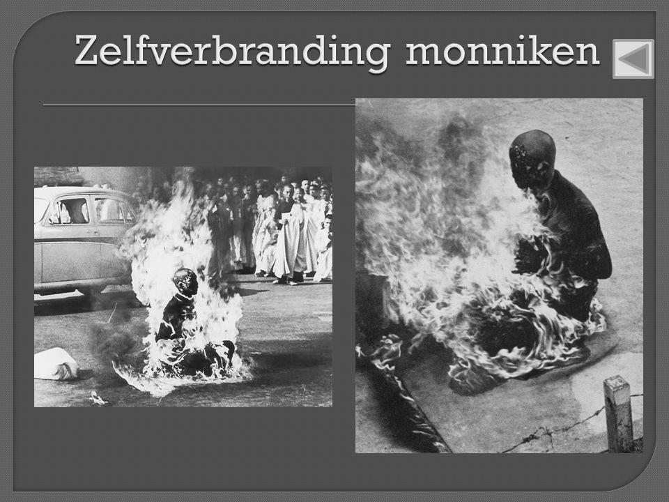 Zelfverbranding monniken