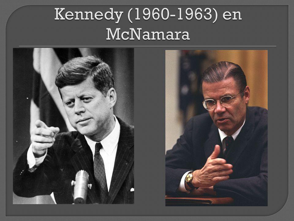 Kennedy (1960-1963) en McNamara