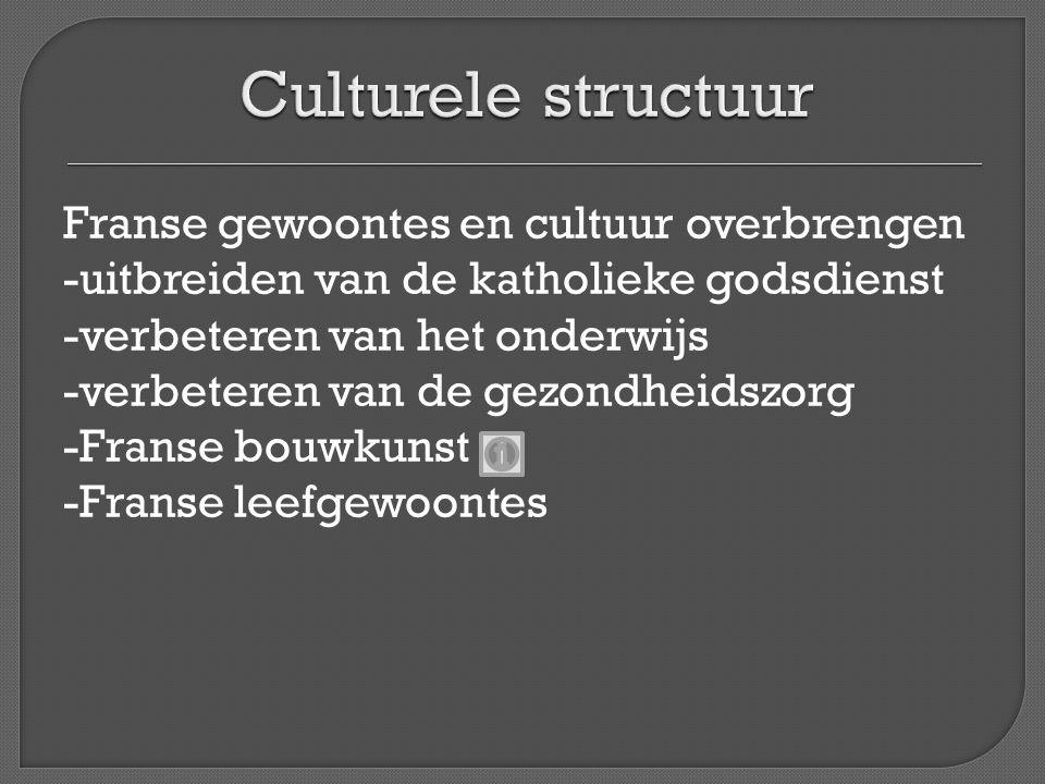 Culturele structuur