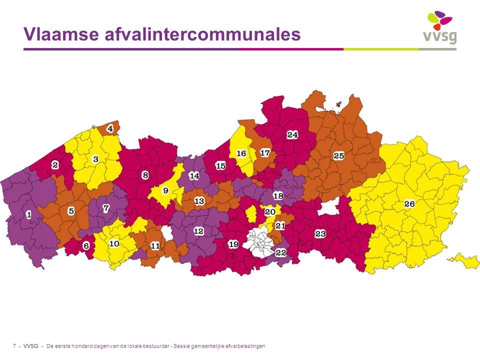 Vlaamse afvalintercommunales