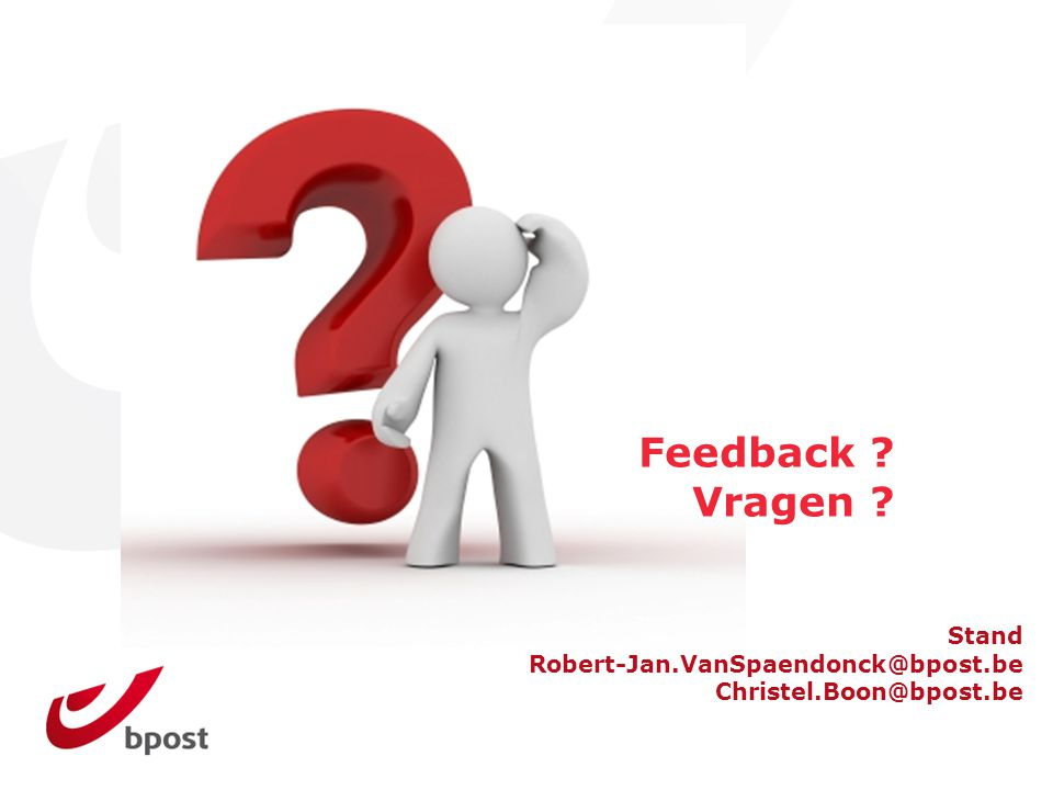 Feedback Vragen Stand Robert-Jan.VanSpaendonck@bpost.be