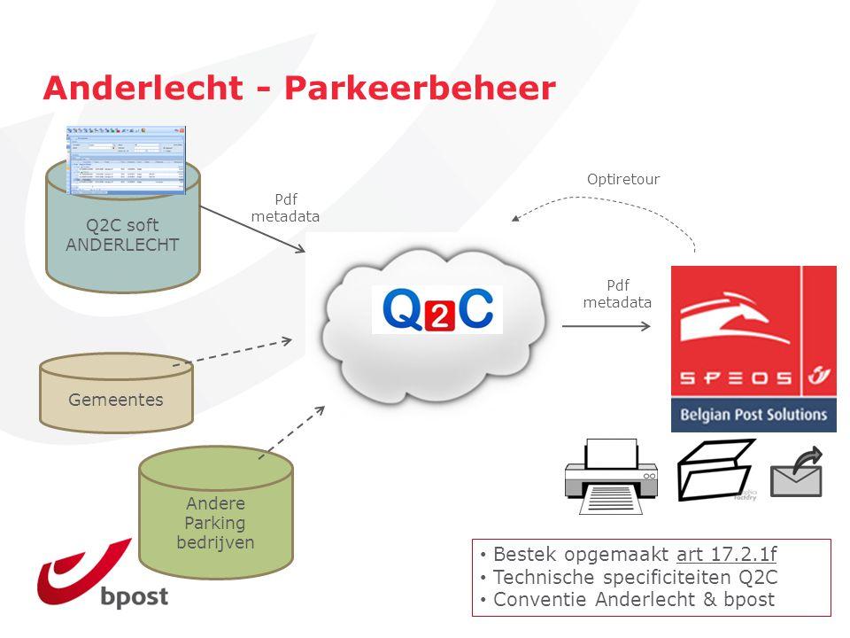 Anderlecht - Parkeerbeheer