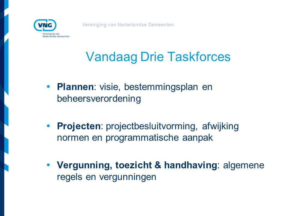 Vandaag Drie Taskforces