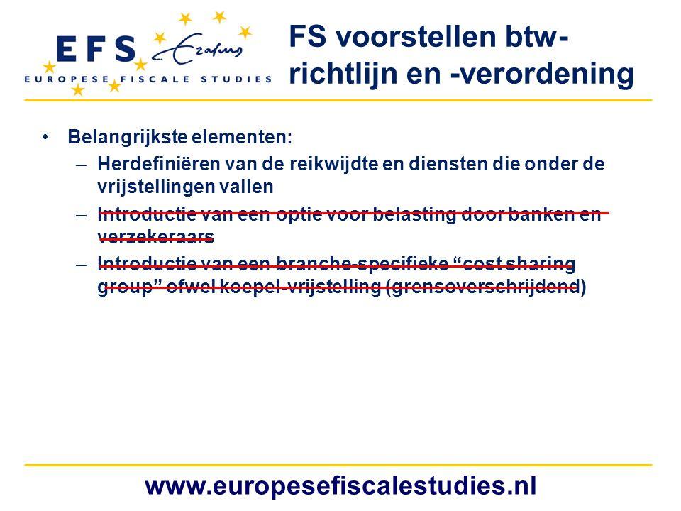 FS voorstellen btw-richtlijn en -verordening