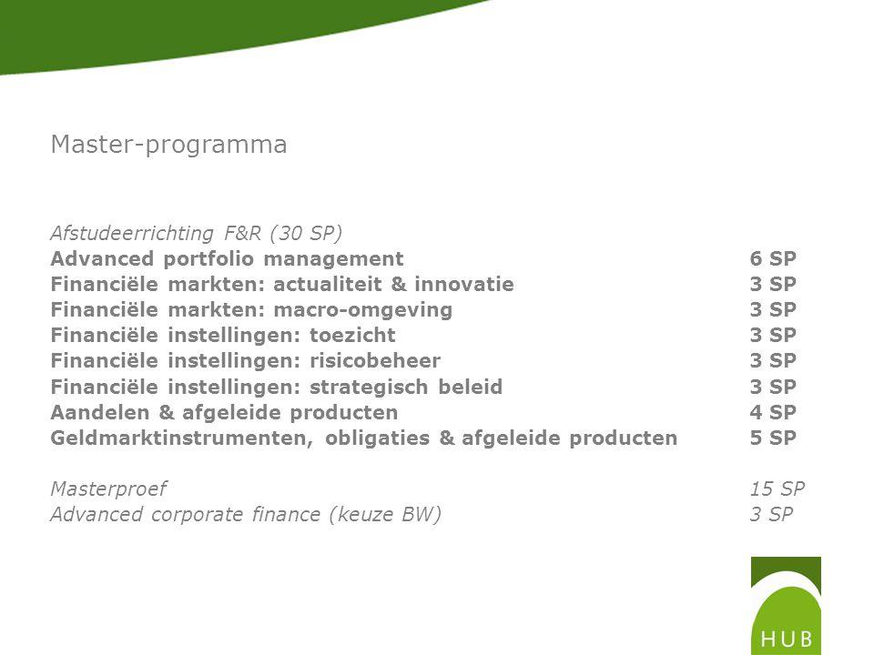 Master-programma