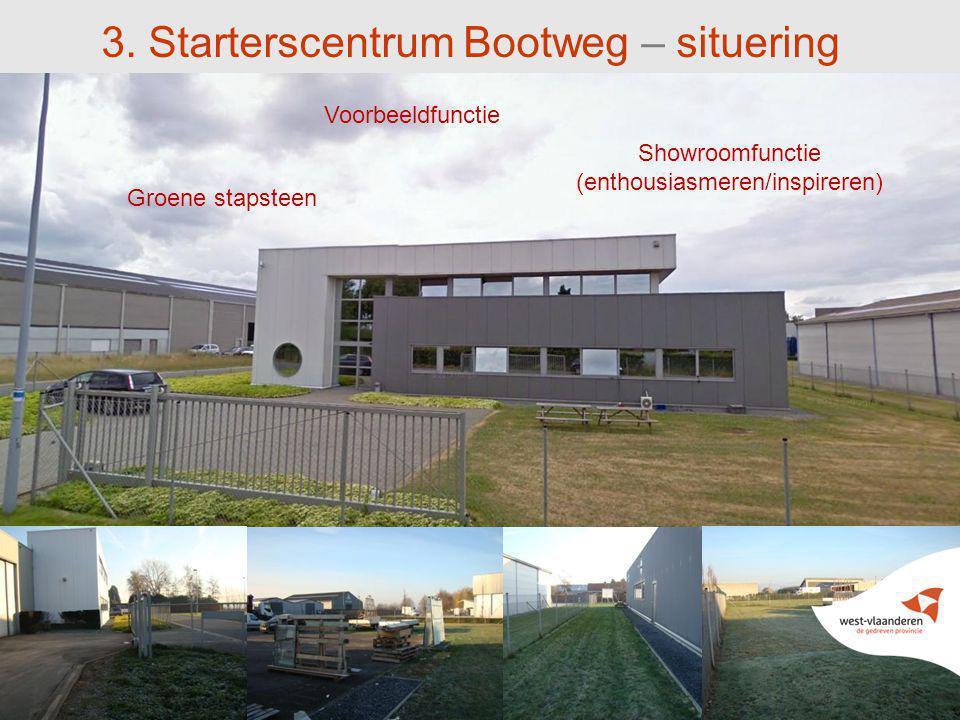 3. Starterscentrum Bootweg – situering