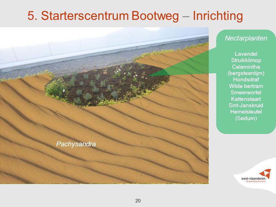 5. Starterscentrum Bootweg – Inrichting