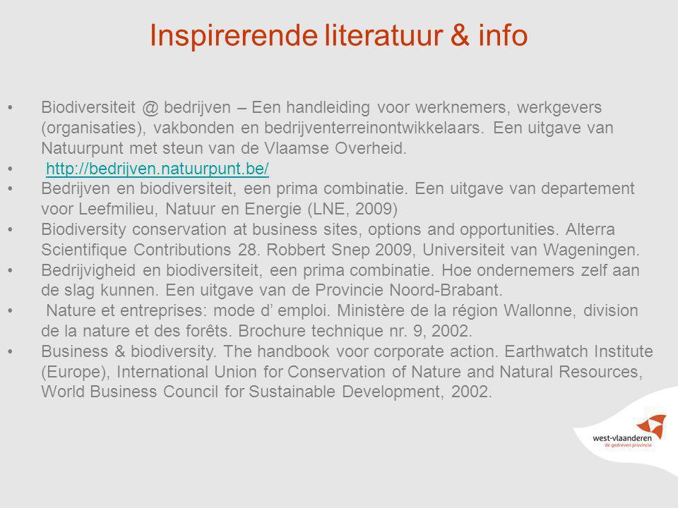 Inspirerende literatuur & info