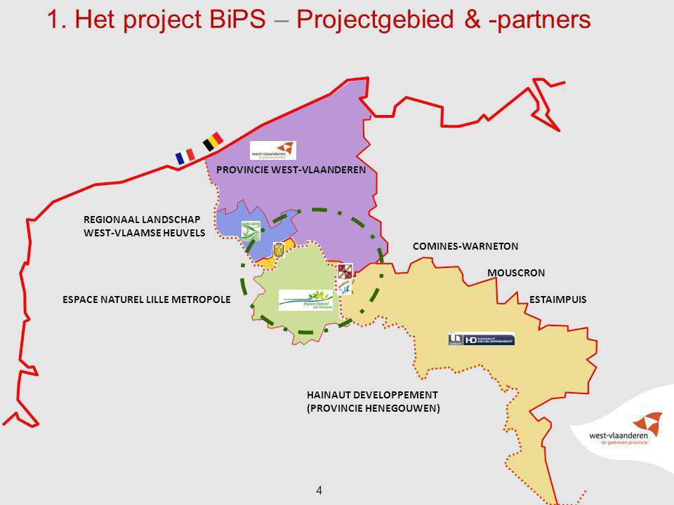 1. Het project BiPS – Projectgebied & -partners