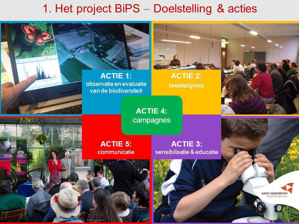 1. Het project BiPS – Doelstelling & acties