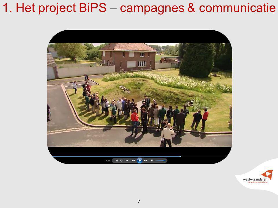 1. Het project BiPS – campagnes & communicatie